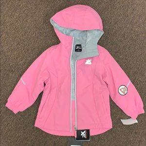 Toddler girl winter jacket